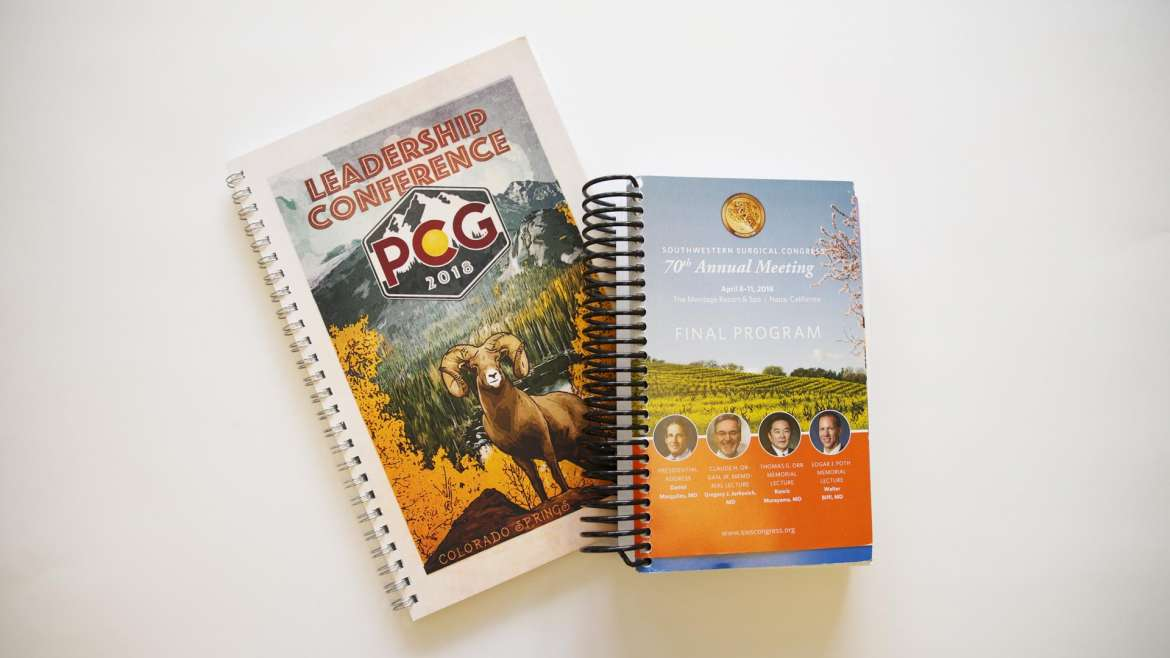Conference Booklets